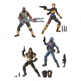 HASBRO G.I. JOE CLASSIFIED SERIES WAVE 1 4X ACTION FIGURE
