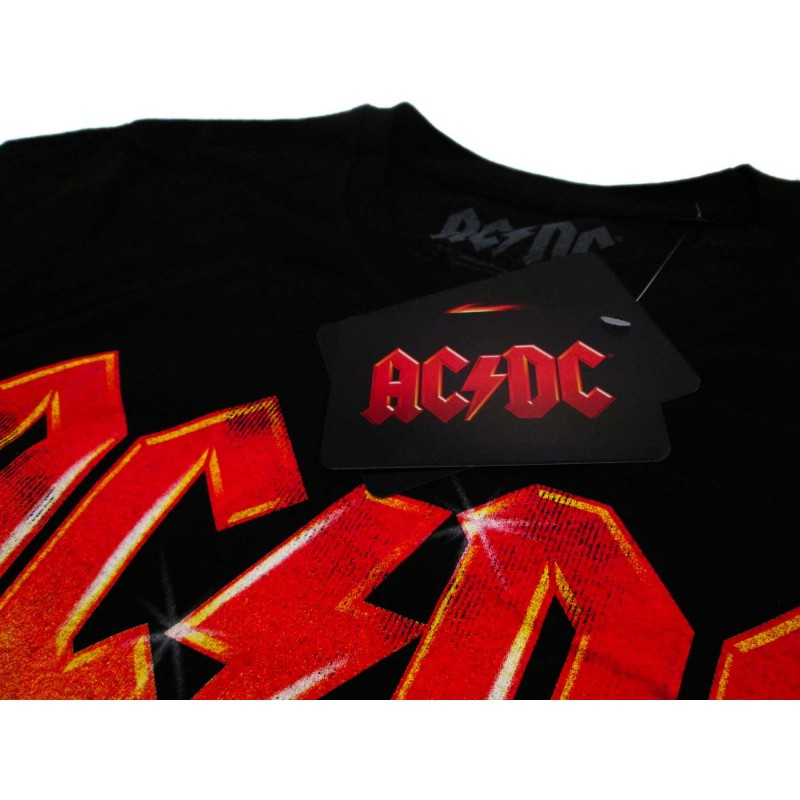 MAGLIA T SHIRT AC DC FOR THOSE ABOUT TO ROCK