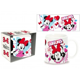 DISNEY MINNIE MOUSE CERAMIC MUG TAZZA IN CERAMICA PYRAMID INTERNATIONAL