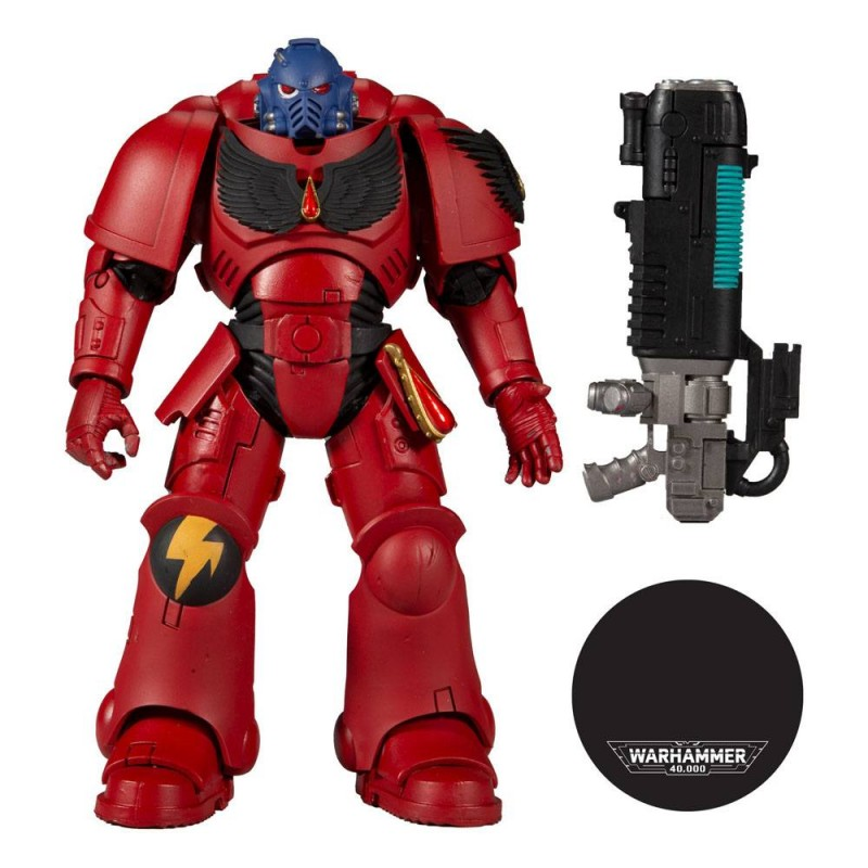 MC FARLANE WARHAMMER 40000 BLOOD ANGELS HELLBLASTER 18CM ACTION FIGURE