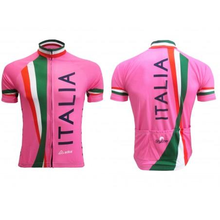 MAGLIA DIVISA CICLISMO ITALIA NAZIONALE ROSA ITALY TEAM CYCLING