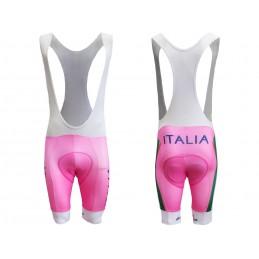 ALKA PANTALONCINI SALOPETTE DIVISA CICLISMO ITALIA NAZIONALE ROSA ITALY TEAM CYCLING