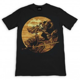 MAGLIA T SHIRT DARK SOULS MONSTER AXE GAYA ENTERTAINMENT