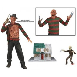 A NIGHTMARE ON ELM STREET 3 DREAM WARRIORS - FREDDY KRUEGER DELUXE ACTION FIGURE NECA