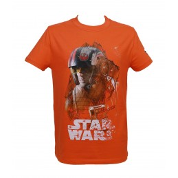 MAGLIA T SHIRT STAR WARS EPISODE VIII X-WING SD TOYS