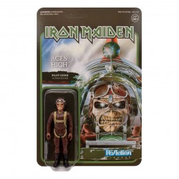 IRON MAIDEN REACTION - ACES HIGH PILOT EDDIE ACTION FIGURE SUPER7