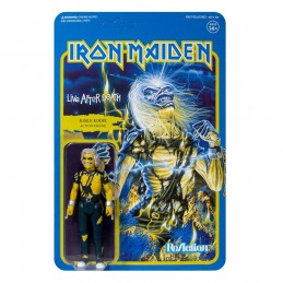 SUPER7 IRON MAIDEN REACTION - LIVE AFTER DEATH RISEN EDDIE ACTION FIGURE