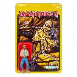 IRON MAIDEN REACTION - PIECE OF MIND ASYLUM EDDIE ACTION FIGURE SUPER7