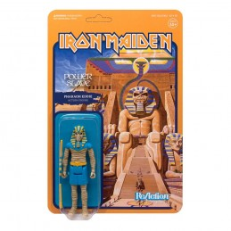 SUPER7 IRON MAIDEN REACTION - POWER SLAVE PHARAOH EDDIE ACTION FIGURE
