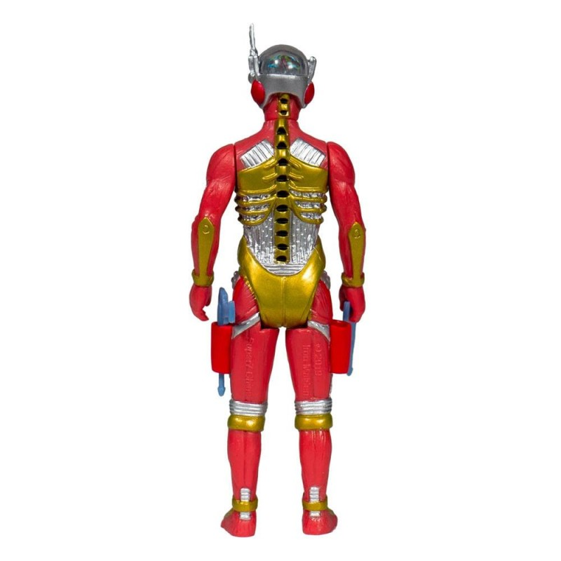 SUPER7 IRON MAIDEN REACTION - SOMEWHERE IN TIME CYBORG EDDIE ACTION FIGURE
