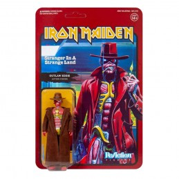 IRON MAIDEN REACTION - STRANGER IN A STRANGE LAND OUTLAW EDDIE ACTION FIGURE SUPER7