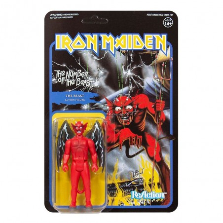 IRON MAIDEN REACTION - THE NUMBER OF THE BEAST ACTION FIGURE