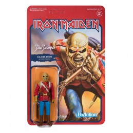 IRON MAIDEN REACTION - THE TROOPER SOLDIER EDDIE ACTION FIGURE SUPER7