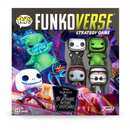 NIGHTMARE BEFORE CHRISTMAS FUNKOVERSE CHARACTER BASE SET GIOCO DA TAVOLO FUNKO