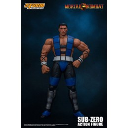 STORM COLLECTIBLES MORTAL KOMBAT - SUB-ZERO UNMASKED 1/12 ACTION FIGURE