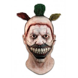 AMERICAN HORROR STORY TWISTY THE CLOWN LATEX MASK MASCHERA TRICK OR TREAT STUDIOS