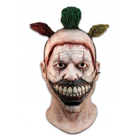 AMERICAN HORROR STORY TWISTY THE CLOWN LATEX MASK MASCHERA
