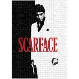 SCARFACE TONY MONTANA REAL POSTER 1000 PIECES PEZZI JIGSAW PUZZLE 48x68cm SD TOYS