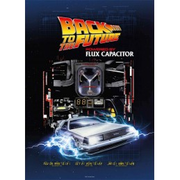 SD TOYS BACK TO THE FUTURE FLUX CAPACITOR 1000 PIECES PEZZI JIGSAW PUZZLE 48x68cm