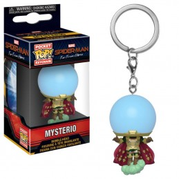 SPIDERMAN FAR FROM HOME POCKET POP! MYSTERIO PORTACHIAVI FUNKO