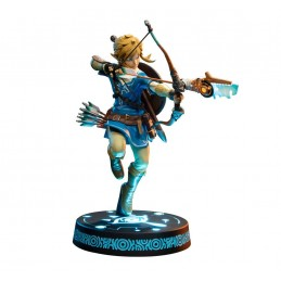 FIRST4FIGURES THE LEGEND OF ZELDA BREATH OF THE WILD LINK COLLECTOR ED STATUE 25CM FIGURE