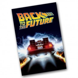 BACK TO THE FUTURE DELOREAN TIME MACHINE BATH TOWEL TELO FACTORY ENTERTAINMENT