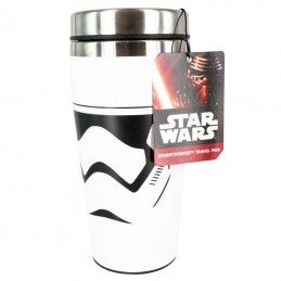 PALADONE PRODUCTS STAR WARS STORMTROOPER TRAVEL MUG TAZZA DA VIAGGIO