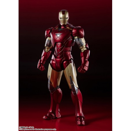 AVENGERS ASSEMBLE IRON MAN MK VI S.H. FIGUARTS ACTION FIGURE