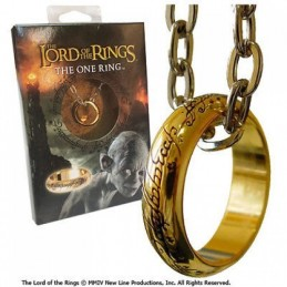 IL SIGNORE DEGLI ANELLI LORD OF THE RINGS ANELLO THE ONE RING NOBLE COLLECTION