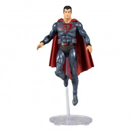 DC MULTIVERSE SUPERMAN RED SON ACTION FIGURE MC FARLANE