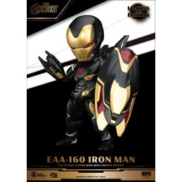 BEAST KINGDOM EAA-160 IRON MAN EGG ATTACK LIMITED EDITION ACTION FIGURE