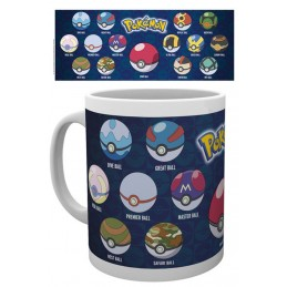 GB EYE POKEMON BALLS CERAMIC MUG
