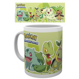 POKEMON ERBA MUG TAZZA IN CERAMICA GB EYE