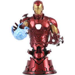 DIAMOND SELECT MARVEL COMICS IRON MAN BUST STATUE