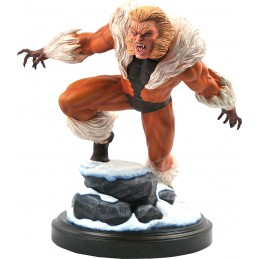 MARVEL PREMIER COLLECTION SABRETOOTH STATUA FIGURE DIAMOND SELECT