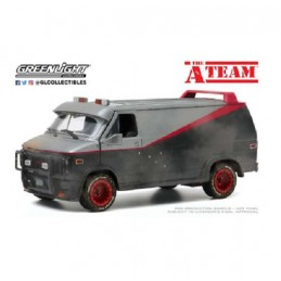 GREEN LIGHT COLLECTIBLES THE A-TEAM - 1983 GMC VANDURA WEATHERED VERSION DIE CAST 1/24 MODEL