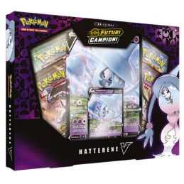 THE POKEMON COMPANY INTERNATIONAL POKEMON COLLEZIONE FUTURI CAMPIONI HATTERENE-V BOX IN ITALIANO