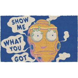 SD TOYS RICK AND MORTY SHOW ME WHAT YOU GOT DOORMAT ZERBINO TAPPETINO