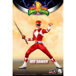 POWER RANGERS RED RANGER 30CM ACTION FIGURE THREEZERO
