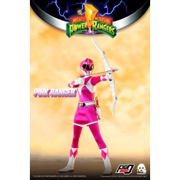 THREEZERO POWER RANGERS PINK RANGER 30CM ACTION FIGURE