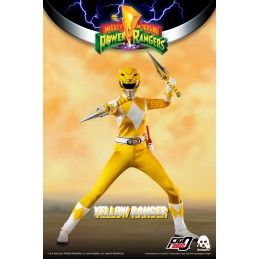 POWER RANGERS YELLOW RANGER 30CM ACTION FIGURE THREEZERO