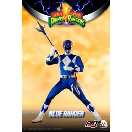 THREEZERO POWER RANGERS BLUE RANGER 30CM ACTION FIGURE