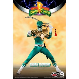 THREEZERO POWER RANGERS GREEN RANGER 30CM ACTION FIGURE