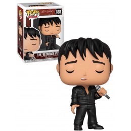 FUNKO FUNKO POP! ELVIS PRESLEY '68 COMEBACK SPECIAL BOBBLE HEAD KNOCKER FIGURE