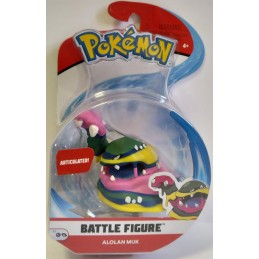 POKEMON BATTLE FIGURE ALOLAN MUK BOTI