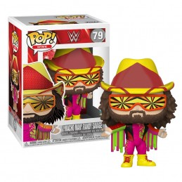 FUNKO POP! WWE MACHO MAN RANDY SAVAGE BOBBLE HEAD KNOCKER FIGURE FUNKO