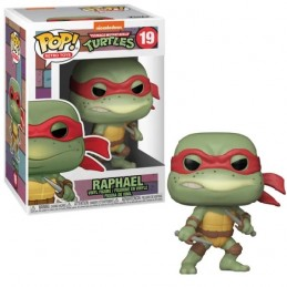 FUNKO POP! TMNT RAPHAEL BOBBLE HEAD KNOCKER FIGURE FUNKO