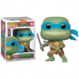 FUNKO POP! TMNT LEONARDO BOBBLE HEAD KNOCKER FIGURE FUNKO