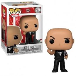 FUNKO POP! WWE THE ROCK BOBBLE HEAD KNOCKER FIGURE FUNKO