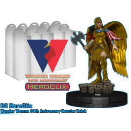 WIZKIDS DC COMICS HEROCLIX WONDER WOMAN 80TH ANNIVERSARY 10X BOOSTER BRICK